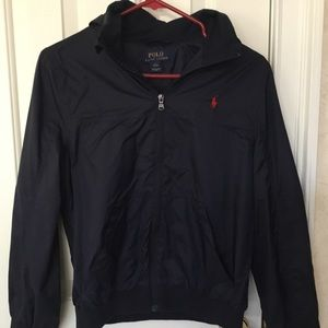 Boy's Ralph Lauren Hooded Rain Jacket - Worn 3X